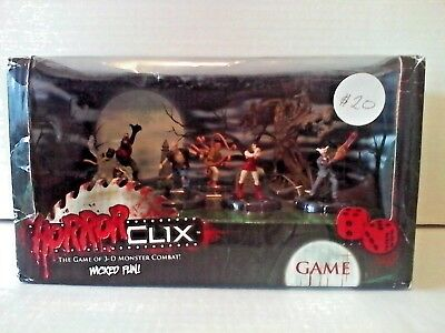 Horror Clix figures play set