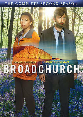 NEW SEALED : Broadchurch The Complete Second Season 2 (DVD, 2015, 3-Disc Set)
