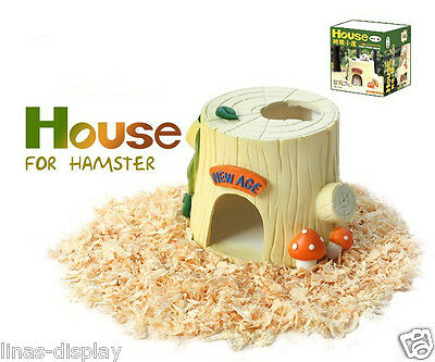 Hamster Rat mouse Ladder Pet Small Animal house Resin Hideout Cage Toy