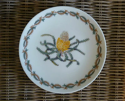 """Australian Fine China """"WILDFLOWER COLLECTION BANKSIA"""" Plate  Made in Australia"""