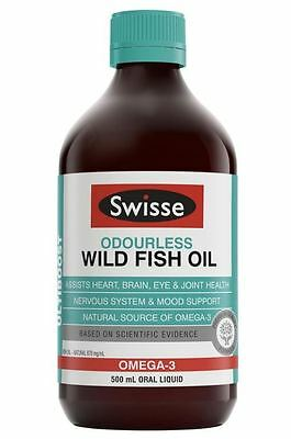 Swisse Ultiboost Liquid Wild Fish Oil 500Ml Liquid