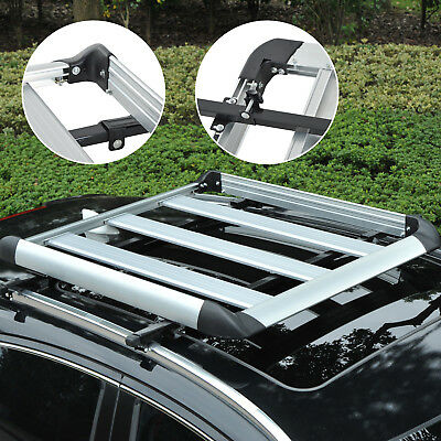 Outsunny Roof Tray Platform Rack Luggage Box Carrier Universal Fit Transit