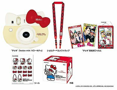 FUJIFILM Instax instax mini Hello Kitty Red INS MINI KIT CAMERA RED New