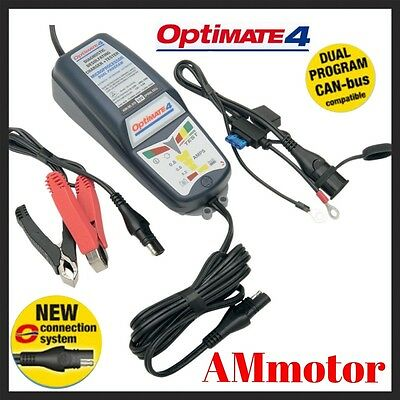 Optimate 4 Can Bus Dual Programm Carica Batteria Moto Scooter