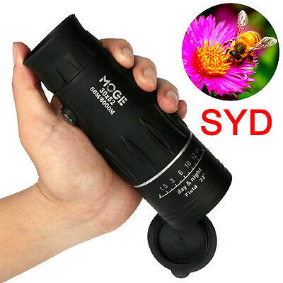 Pro 30X52 Day & Night Vision Optical Monocular Telescope Hunting Camping Hiking