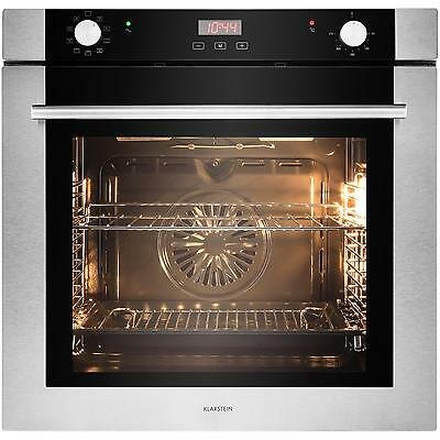 Spacious Stainless Steel Oven 71 L Grill Bake Convention Kitchen Hotel 3500 W