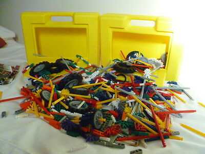 2 large boxes of K'NEX with instructions