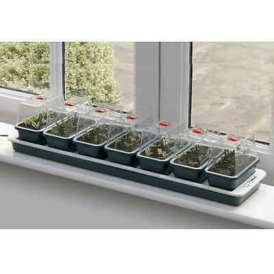 Garland Super 7 Electric Windowsill Heated Propagator Garden Greenhouse G51