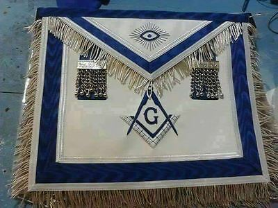Hand Embroidered Masonic Master Mason Apron