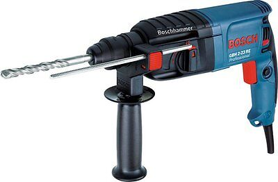 Bosch GBH2-23RE 110v SDS Rotary Hammer Drill c/w 2 of 6/8/10mm SDS Bits