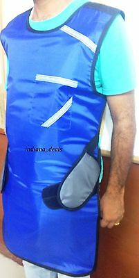 X ray Protective Blue Lead Apron Lead Vest New