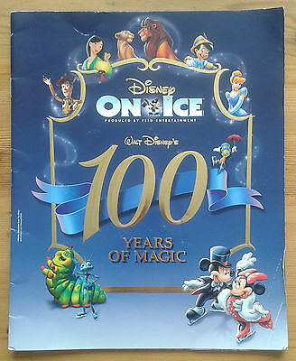 Disney On Ice 100 Years of Magic souvenir programme ~2003