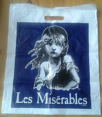 Selection of West End theatre show memorabilia bags (plastic and paper bag)