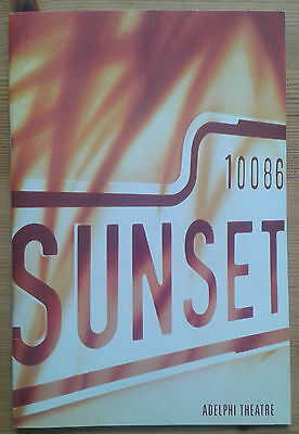 Sunset Boulevard programme Adelphi Theatre Dec 1993 Patti LuPone Kevin Anderson