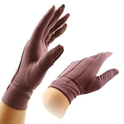 1pair(2pcs) F.I.R. Magnetic Fiber Breathable Arthritis Gloves Blood Free P&P