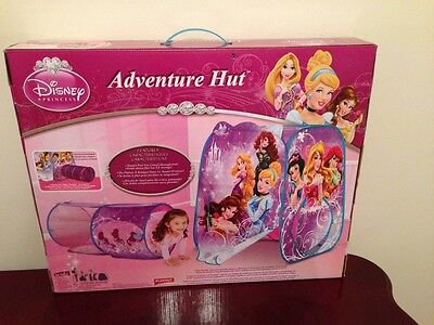 NEW Playhut Disney Princess Adventure Hut Tent And Tunnel