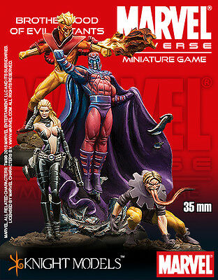 Knight Models Marvel Brotherhood Of Evil Mutants Metal New