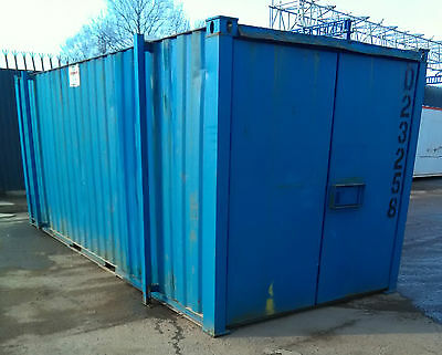 20ft x 8ft (6m x 2.4m) Steel Store (Container)