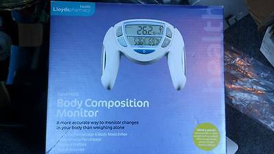 Body Composition Monitor hand held