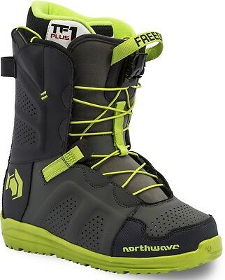 Northwave Freedom Sl Black/lime Green Mens Snowboard Boots