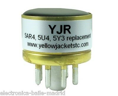 Yellow Jackets Yjr Solid State Replacement For 5Y3 5U4 5Ar4 Gz34 Tube Rectifier