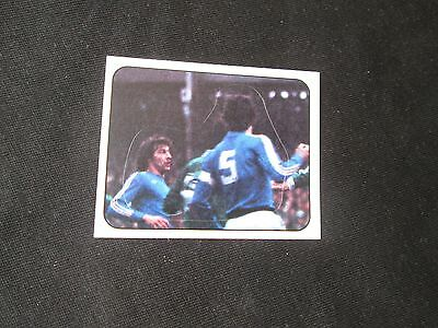 EQUIPE FRANCE  poster central  Image  N° 235  FOOTBALL 78  PANINI  1978