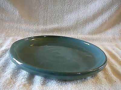 "Cornelison Pottery Green Glaze LARGE DISH 10 5/8"" Bybee Kentucky, Excellent"