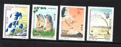 Italy Mnh 2001 Sg2665-2668 World Day To Combat Desertification And Drought