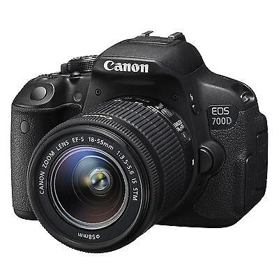 Canon EOS 700D Kit + 18-55mm IS STM