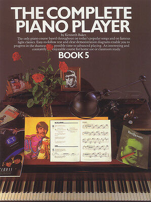 The Complete Piano Player 5 Sheet Music Book Only Learn How To Play Method