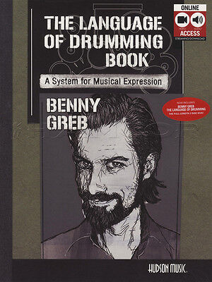 The Language of Drumming Music Book with Audio & Video Benny Greb Method