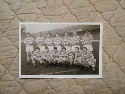 Wigan Rl B/w Copy Team Photo Taken Before Match Against Wakefield March 1962