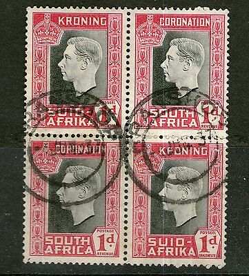 DMB - South Africa - Block of 4 - Used