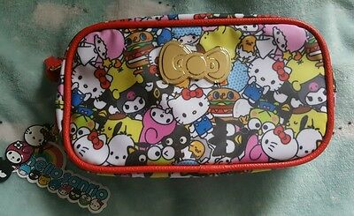 Loot Crate Exclusive Hello Sanrio Small Gift Crate Pouch / Makeup Bag