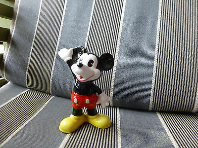 "Mickey mouse  Vintage Japan  Ceramic Figure 4"" High"