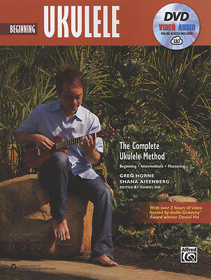 Beginning Ukulele Complete Method TAB Music Book with DVD and Online Audio