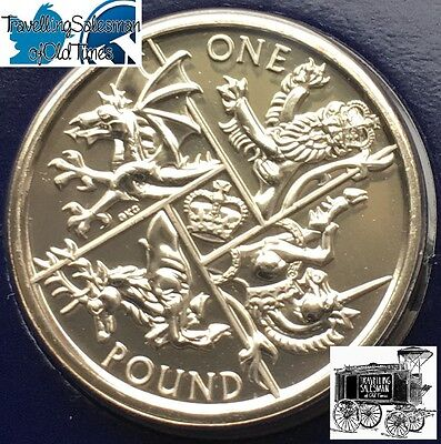 Last Round Pound COIN 2016 Royal Mint £1 BU Coin Pack Brilliant UNCIRCULATED