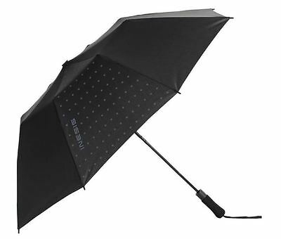 Inesis Golf Umbrella 120 Automatic Open Windproof Mountain Canopy Black New