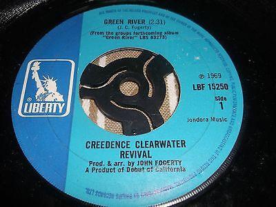 """Creedence Clearwater Revival - Green River (7"""" Single)"""