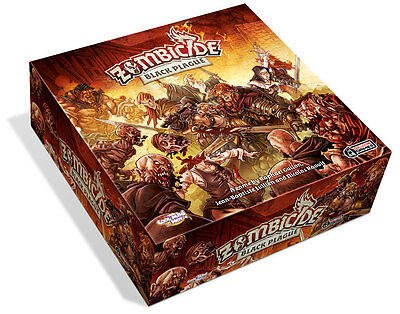 New Zombicide Black Plague Board Game