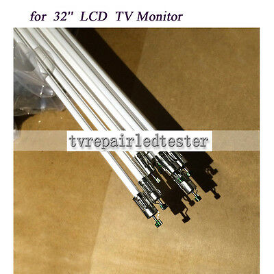 "32"" LCD CCFL lamp backlight tube, 704MMx3.8MM with holder without solder 10pcs"