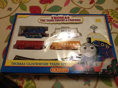 Thomas The Tank Engine Clockwork Train Set By Hornby