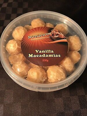 Macadamia Nuts ( 7 flavours to choose from) - 200g each