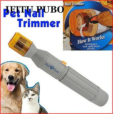 Pet nail clipper Pedi Painless Pet Dogs Cats Paw Nail Trimmer Cut Electric
