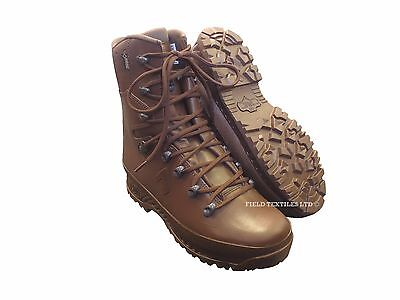 HAIX Cold Wet Weather Leather Boots Brown - British Army - MTP - Mans/Male - NEW