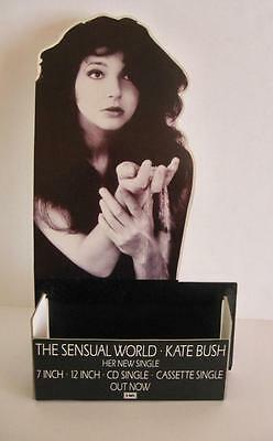 """Kate Bush The Sensual World 7"""" In-Store only Promo Counter Display RARE NM"""
