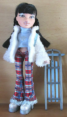 Bratz Doll  Winter wonderland Jade vgc [m)