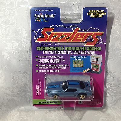 "Playing Mantis ""SIZZLERS"" 1970 Firebird Trans Am Metallic Blue"