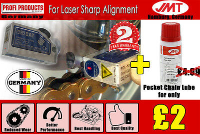 Pocket Chain Lube 50ml+SE-CAT Laser Tool- Suzuki LT-Z 50 4T Quadsport - 2011