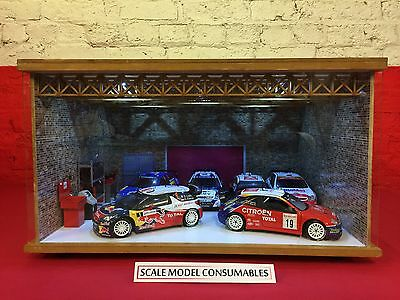 1:18 1/18 1-18 118 Scale Citroen Complete Diorama Garage With Tools & Cars